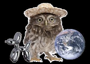Go Zebra - Iværksætter - design - børn - Ugle Hat Koons Klode lille